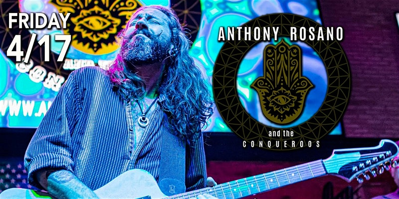 Anthony Rosano & The Conqueroos! LIVE at Paparazzi OBX!